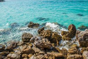 Pattaya Beach i Koh Larn, Thailand foto