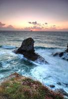 trevellas Porth Cornwall, Storbritannien