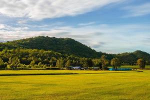 landsbygden i uthai thani, thailand