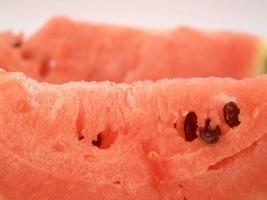 vattenmelon skiva närbild