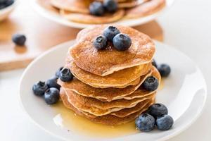 pannkakor med blåbär