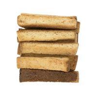 hög med indiska toast snacks