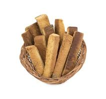 korg med toastpinnar