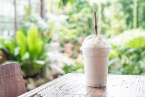 vanilj milkshake smoothie