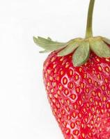 färsk jordgubbsfrukt foto