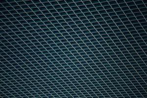 närbild av ett metallgaller foto