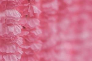 mjukt fokus tyg blommor
