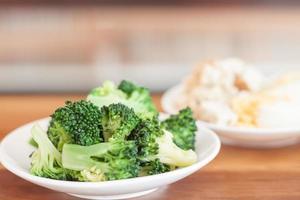 grönsaker på en tallrik
