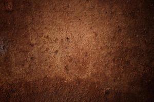 grov brun vägg