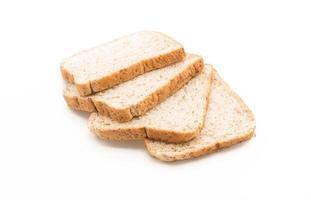 fullkornsbröd på vitt