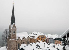 vacker utsikt från Salzburg, Österrike
