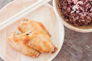 kyckling med bärris