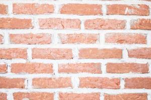 närbild av en tegelvägg foto