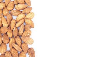mandel nötter med kopia utrymme