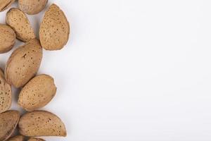 valnötter med kopieringsutrymme