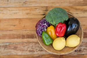 färsk frukt och grönsaker