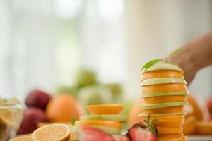 olika färsk frukt