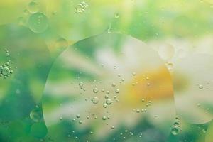 vatten och olja, abstrakt bakgrund