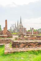 historiskt av ayutthaya i Thailand