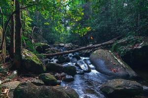 ström i khao chamao vattenfall nationalpark foto
