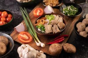 guay jap thailändsk mat foto