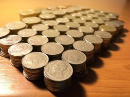bunt med mynt