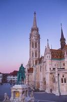 matthias-kyrkan i Budapest