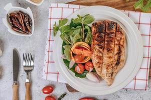 kycklingbiff med grönsaker
