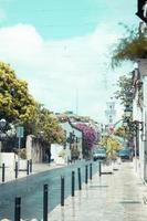 santo domingo, Dominikanska republiken, 2020 - väg under dagen