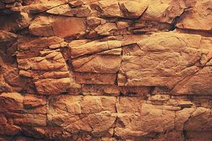 brun stenvägg foto