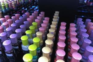 kosmetika för kvinnor som säljs ut foto