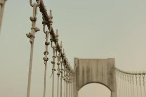 närbild av en bro foto
