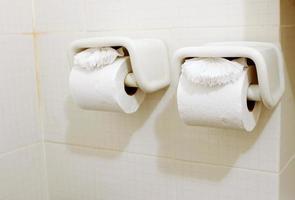 toalettpappershållare foto