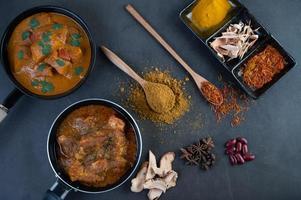 thailändsk massaman curry