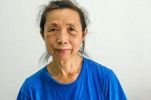 porträtt av en gammal kvinna