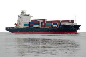 containerfraktfartyg foto