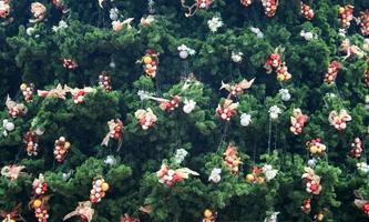 dekorativ julgran foto