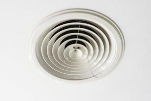 luftkonditioneringssystem för ventilationsinstallation foto