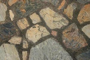 sten golv bakgrund foto