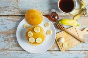 ovanifrån av pannkakor