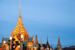 buddhistiskt tempel i Thailand. foto
