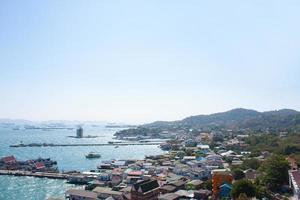 byar på ön foto