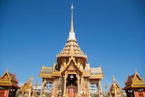 buddhisttempel i Thailand foto