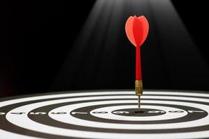 dart slår bullseye foto