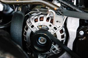 bilmotor detalj foto