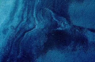 grov blå cement foto