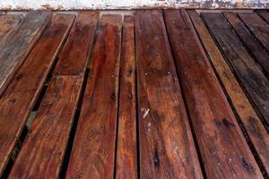 trä lameller golv för bakgrund foto