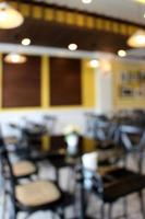 suddig stol och bordsbakgrund foto
