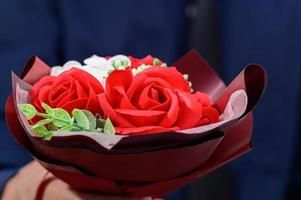 närbild av blommor foto