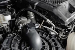bilmotor detalj
